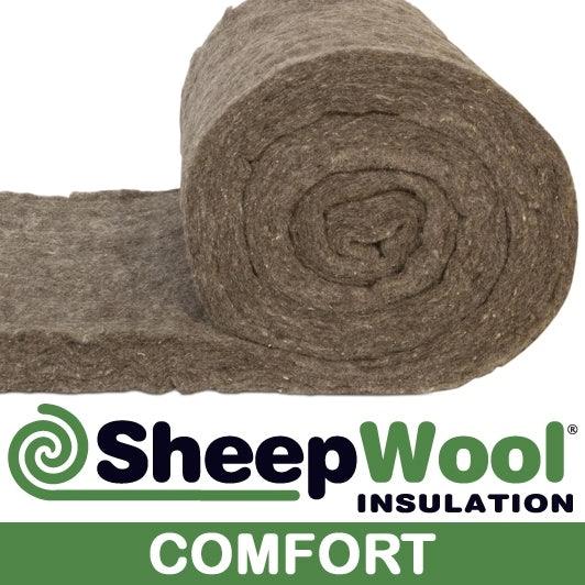 SheepWool Insulation Comfort loft roll